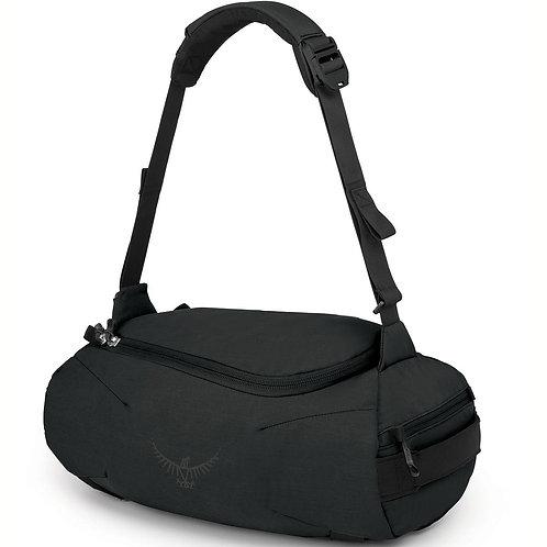 Osprey Trillium 30 Duffel Bag Black-Мужская черная многофункциональная сумка