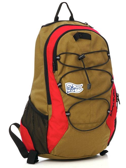 Dakine песочно-красный рюкзак,защита от влаги и солнца не дорого прочный