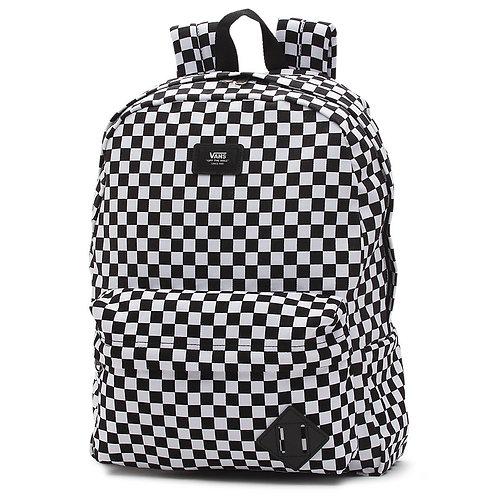 Vans Old Skool - Black/White Checkerboard Мужской рюкзак от Vans-классика!