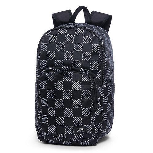 VANS Alumni Bone Print School Black  Large Lap Top Backpack  Большой рюкзак VANS со множеством отделений,поместится все!