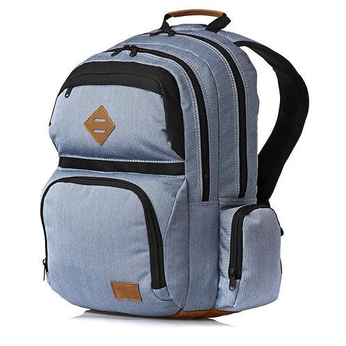 Рюкзак большой мужской серый