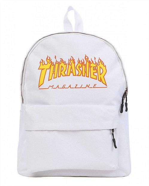 Thrasher School White Унисекс рюкзак от известного бренда США