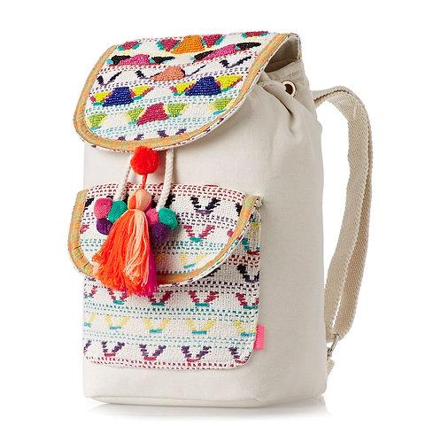 Seafolly Carried Away Neon Girls Backpack Multi-Яркий женский Австралийский рюкзачок+шляпка