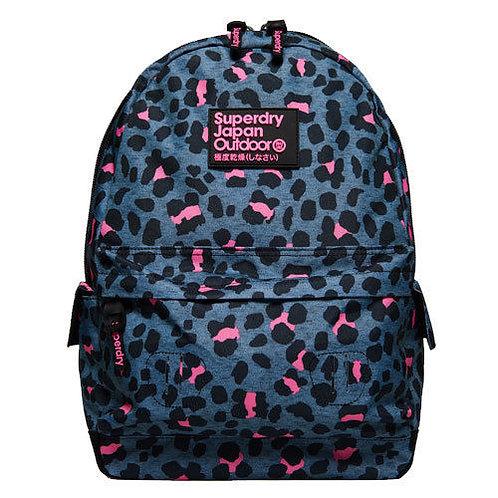 Женский леопардовый рюкзак Superdry