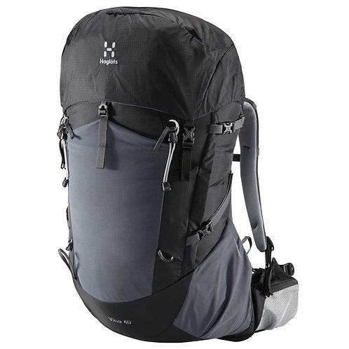 Большой серый рюкзак Haglöfs Vina 40L унисекс