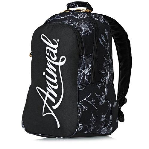 Animal Bright Backpack Black-Черный женский,Британский рюкзачок