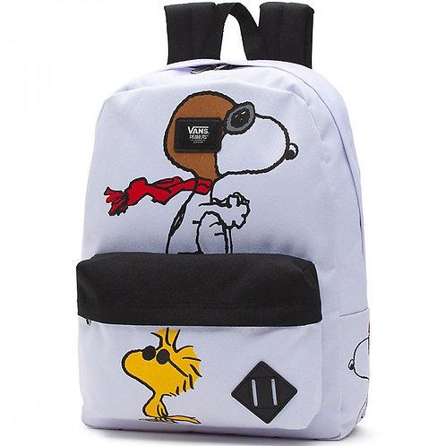 VANS MN OLD SKOOL II WHITE (PEANUTS)-Special version.Рюкзак унисекс,подойдет как для девочек,так и для мальчиков.