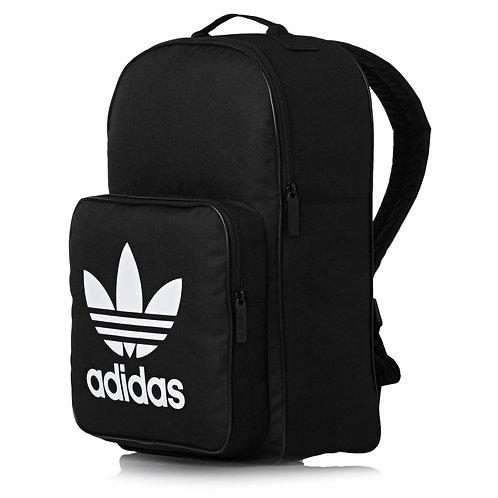 Adidas Originals Classic Trefoil Backpack - Black. Черный рюкзак-унисекс.