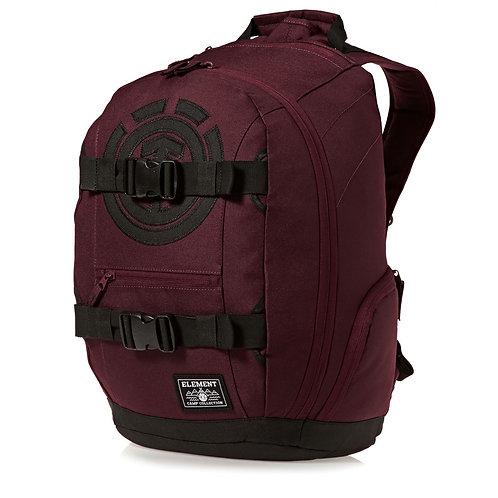 ELEMENT MOHAVE SKATE BACKPACK Napa Red-Находка Скейтера! Мужской вместительный рюкзак для серфа на асфальте.