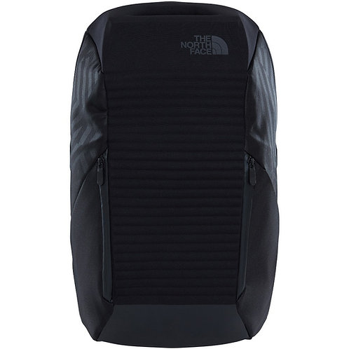 THE NORTH FACE ACCESS 22L Black-Шикарный мужской черный рюкзак-панцырь