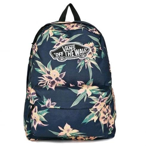 VANS REALM BACKPACK Fall Tropics-Женский рюкзак с принтом тропиков