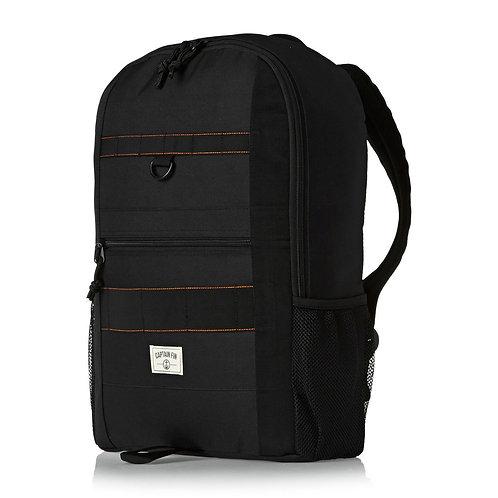 CAPTAIN FIN GOAT BACKPACK Black-Черный рюкзак для скейтборда,непромокаемый!