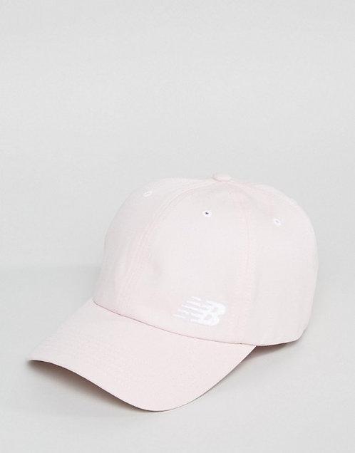 New balance classic cap in pink Женская повседневная кепка от знаменитого бренда