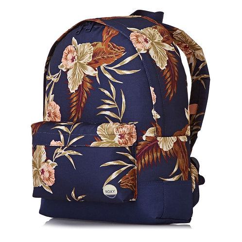 Женский рюкзак ROXY цветочный принт,не дорого,прочный,городской.