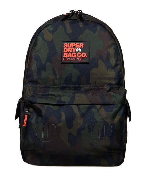 Superdry Montana Backpack Black Camo Мужской модный камуфляжный рюкзак