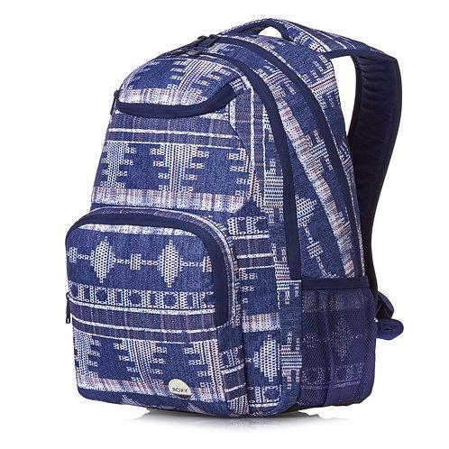 Рюкзак ROXI синий женский прочный рюкзак дешево много карманов