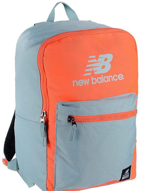 Яркий рюкзак унисекс. New Balance Booker Backpack Neon/orange