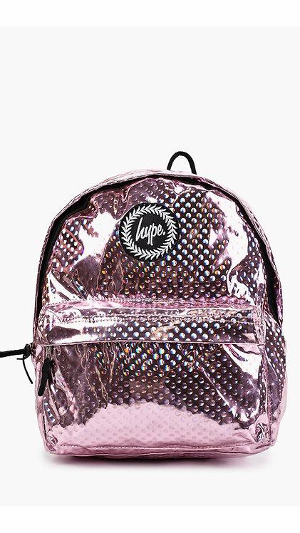 Hype Metallic Polka Backpack Женский розовый рюкзак
