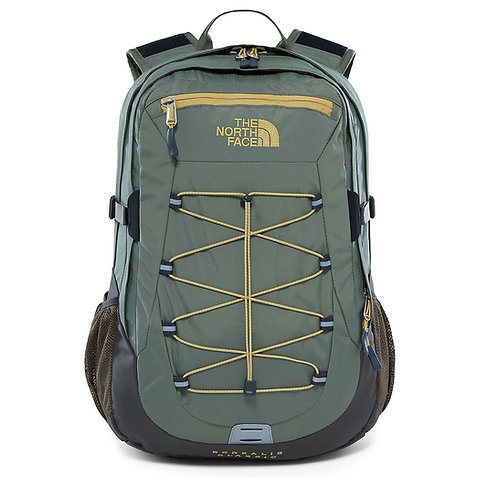 The North Face Borealis Classic Backpack New Taupe Green/Four Leaf Clover-Мужской зеленый рюкзак