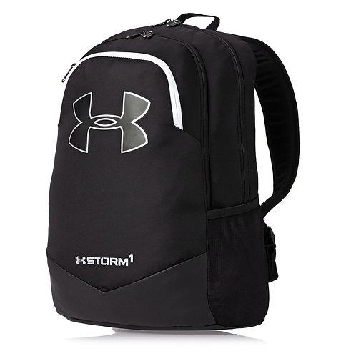 Under Armour Scrimmage Backpack - Black/white Черный мужской рюкзак,с пропиткой от влаги.