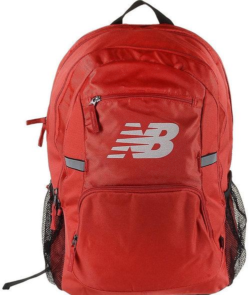 """Большой красный рюкзак. New Balance """"Accelerator Backpack"""" Red."""