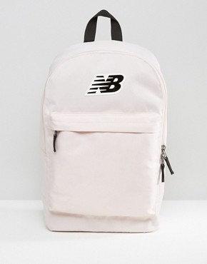 Необыкновенный рюкзак New balance. Бледно-розовый для девочек.
