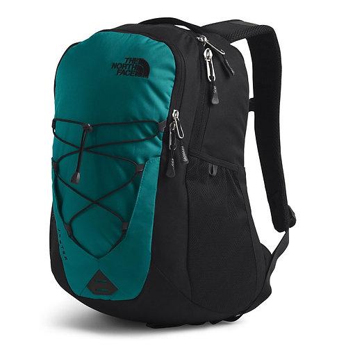 Мужской зеленый крепкий рюкзак The North Face Jester Fanfare GreenTNF Black