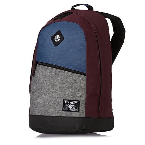 Разноцветный унисекс рюкзак ELEMENT для скейтеров.