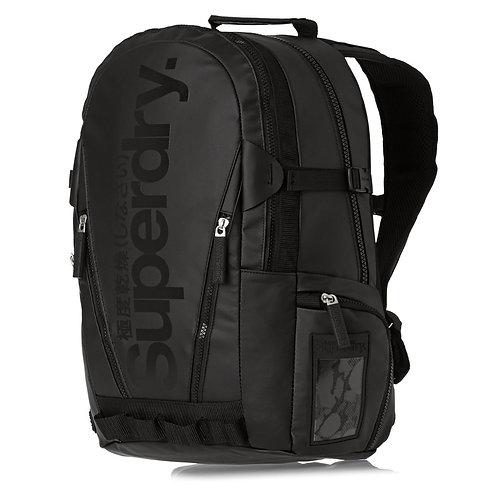 Superdry Backpacks - Superdry Only Tarp Backpack - Black Черный мужской рюкзак Superdry.