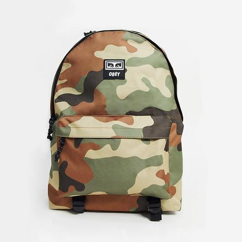 Obey Takeover Day Pack Backpack - Field Camo Камуфляжный унисекс рюкзак от скандального художника!