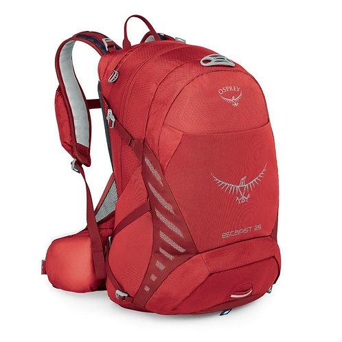 Osprey Escapist 25 Cayenne Red Красный рюкзак для велосипеда унисекс!