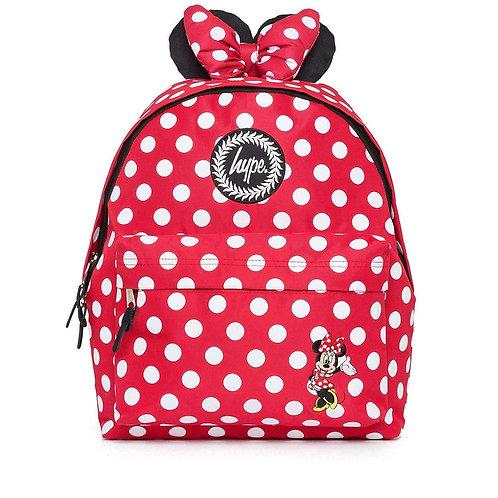 Hype Red X Minnie Mouse Disney Backpack Красно-белый Эксклюзивный женский рюкзачок!