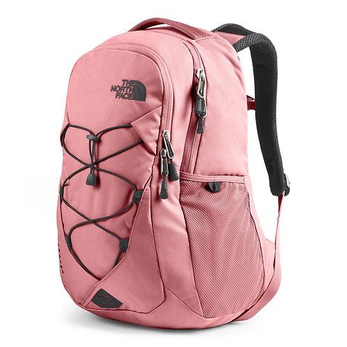 Женский розовый крепкий рюкзак The North Face Jester MAUVEGLOW/ASPHALT GREY