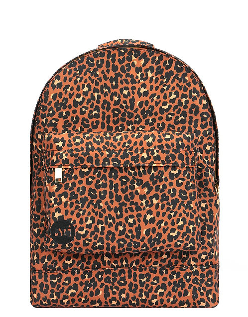 MI-PAC PREMIUM GOLD NYLON BACKPACK - LEOPARD + MI-PAC PREMIUM GOLD NYLON BAG LEO