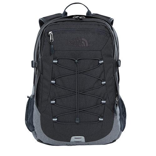 The North Face Borealis Classic Backpack TNF Dark Grey Heather/TNF Med Grey Heather-Серый мужской вместительный рюкзак