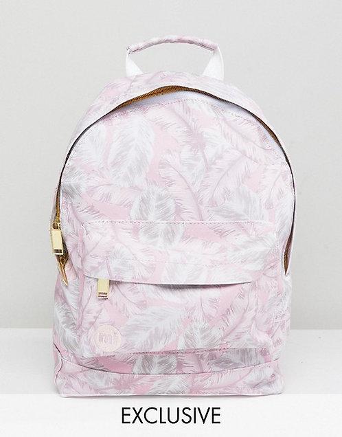 Mi-Pac Pink feathers Эксклюзивный женский рюкзак!