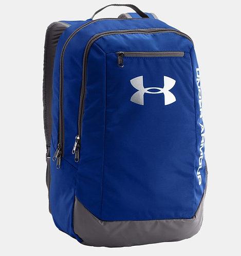 Under Armour Hustle 29L Backpack Royal Blue Синий мужской,не промокаемый рюкзак от Американского бренда.