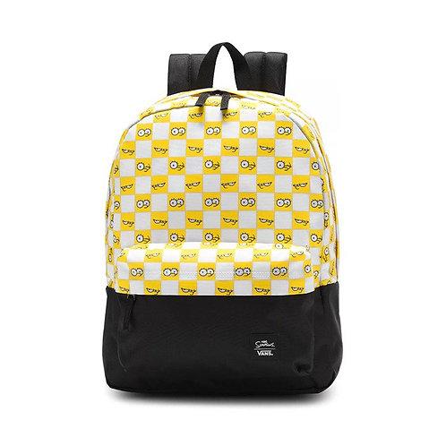 Крутой рюкзак от известного бренда! унисекс THE SIMPSONS X VANS CHECK EYES BACKPACK