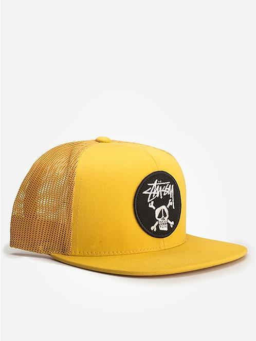 STUSSY yellow Skull cap Молодежная модная кепка stussy