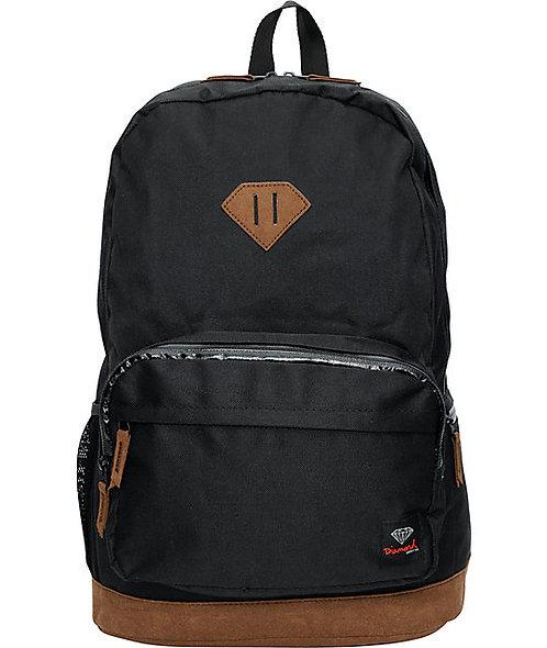 Diamond Supply Co. Croc School Life Backpack Модный бриллиантовый школьный рюкзак с органайзером Унисекс