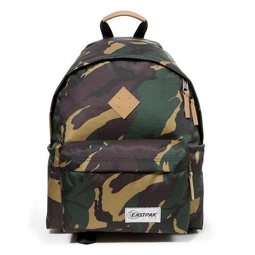 Eastpak Padded Pak R Into Camo 24L Крепкий мужской рюкзак с принтом под камуфляж
