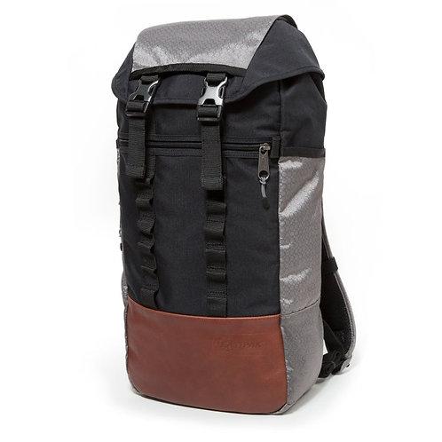 Eastpak Bust MP Black-Grey backpack Мужской черно-серый крепкий рюкзак на каждый день