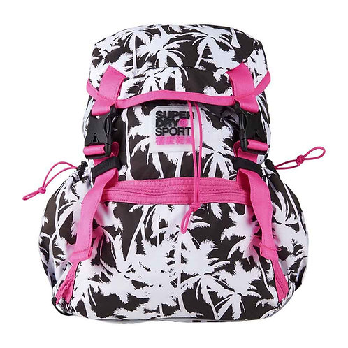 Superdry Super Sport Backpack+Superdry Super Solo Orange Label Cap Pink Женский розовый комплект для занятием спортом!