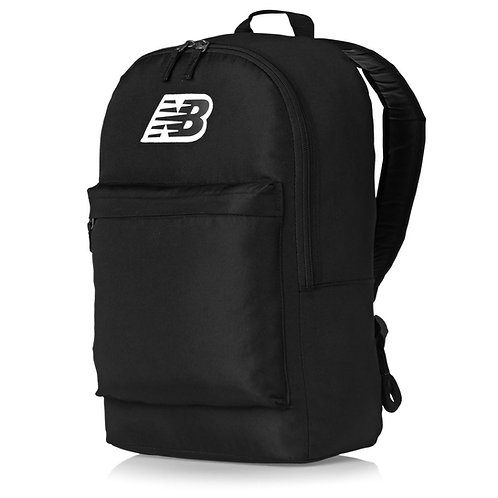 New Balance Pelham Classic Backpack Black-Черный рюкзак от знаменитого производителя