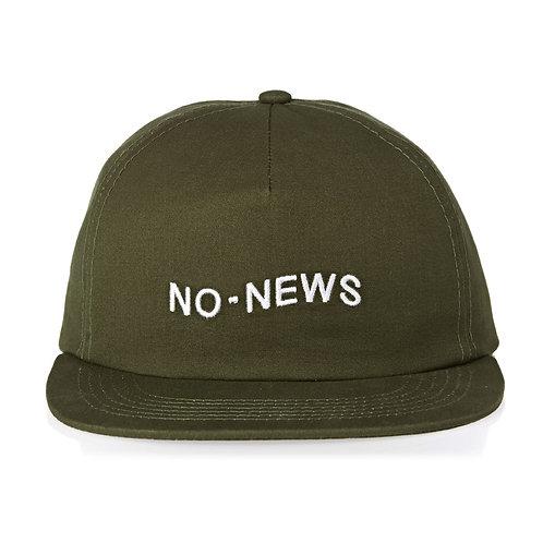 No News Caps - Military-Мужская кепка для скейта,Нет ностей. Хаки.