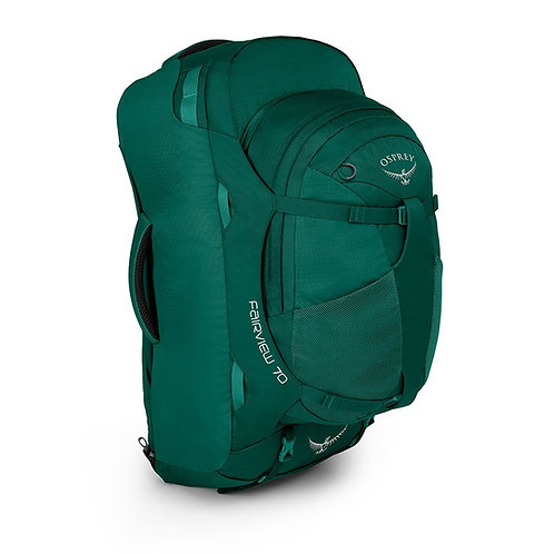 Osprey Fairview 70 Womens Rainforest Green-Зеленый женский рюкзак для путешествий