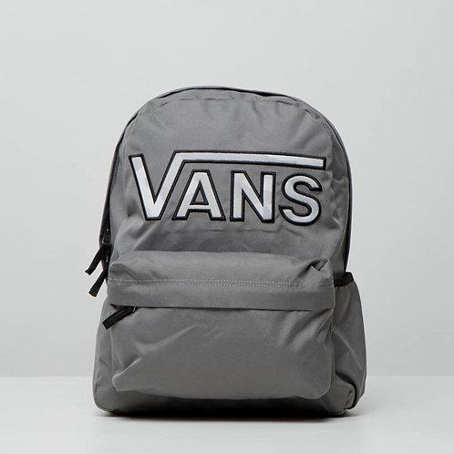 VANS REALM FLYING-Женский серый рюкзак