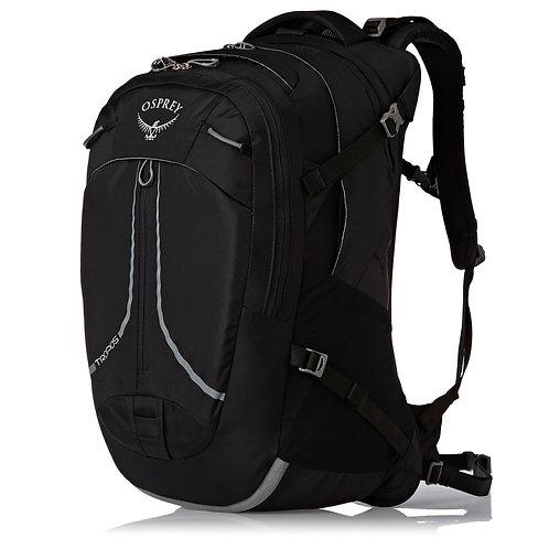 Osprey NEW Tropos 32L Backpack - Black Черный,мужской рюкзак со множеством карманов и отделений