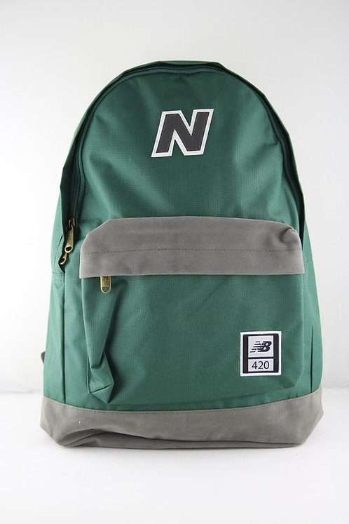 Зеленый рюкзак New balance 420