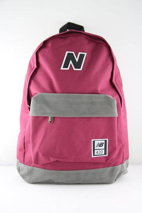 Бордовый рюкзак New balance 420